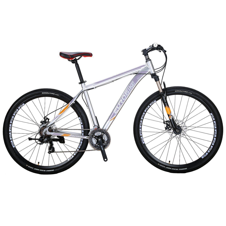 29 Mountain Bike Aluminium Frame Mens Bicycle Shimano 21 Speed Mtb