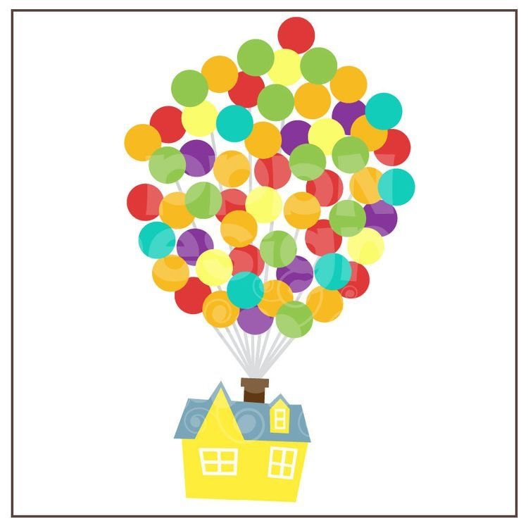 Pin By Karena Carrillo On Up House Of Balloons Disney Scrapbook Disney Up House