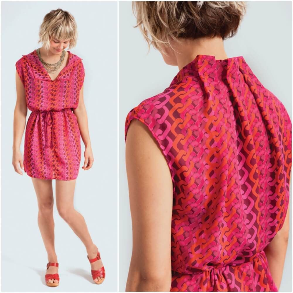 Einfaches Tunika-Kleid | einfache Tunika, Tunika kleid und Kleid nähen