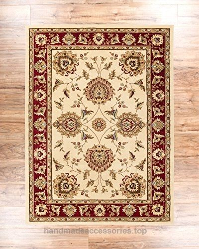 Sultan Sarouk Ivory Persian Floral Oriental Formal Traditional 5x7 53