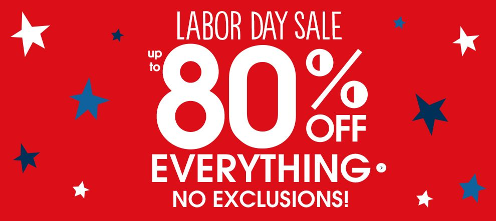 Gymboree Up To 80 Off Free Shipping The Labor Day