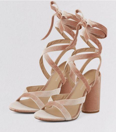 Tie up heels, High heel shoes