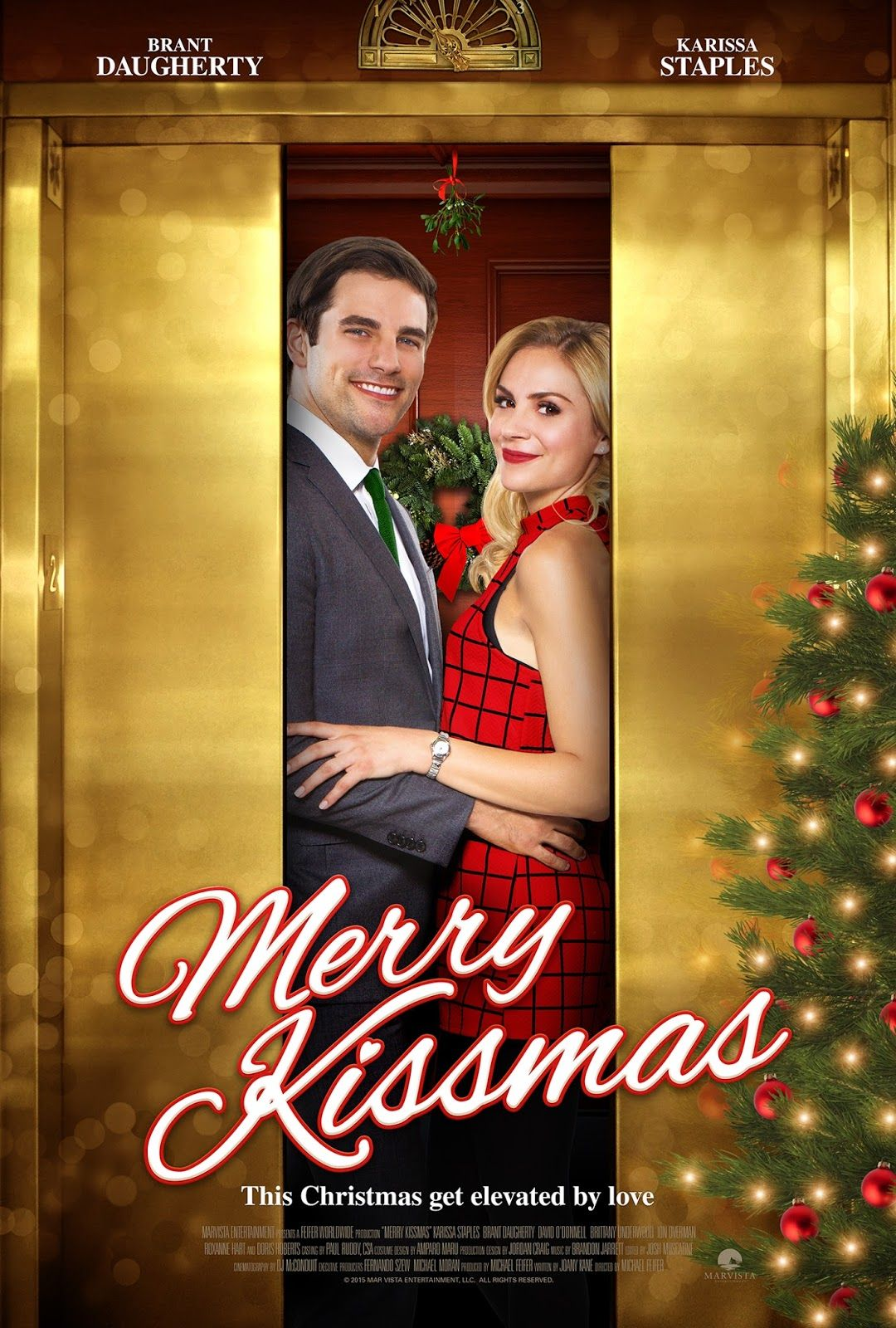 Merry Kissmas starring Karissa Lee Staples and Brant Daugherty ...