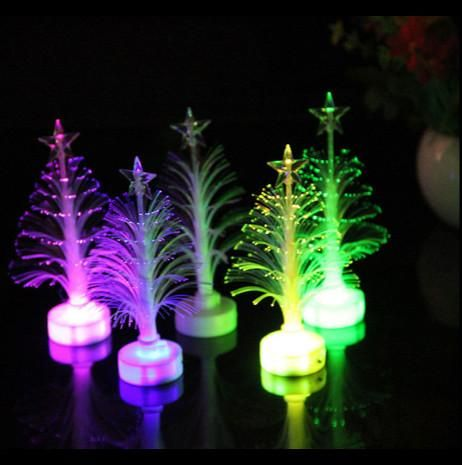 LED Color Changing Fiber optic Christmas Tree in 2018 Christmas