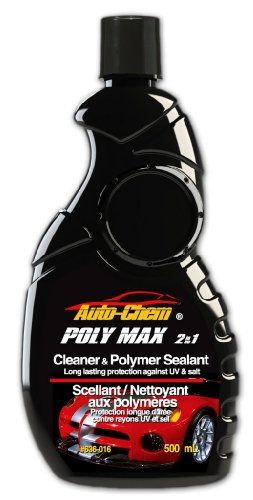 AutoChem Professional 636016 POLY MAX2 in 1 Polymer Cleaning Wax and
