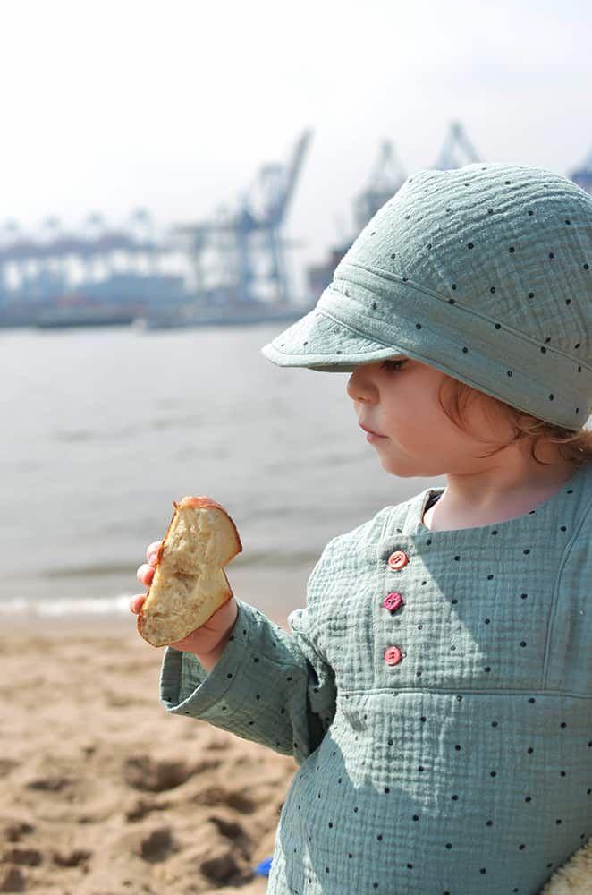 Schnittmuster für Musselin - Erbsenprinzessin Blog #sommerkleidselbernähen