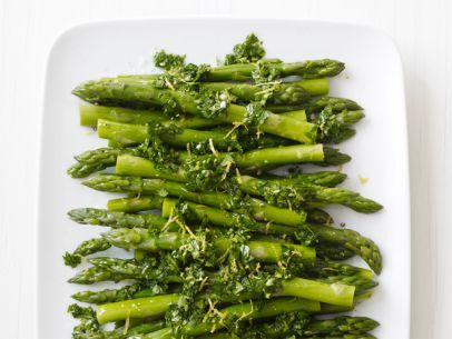 Lemon-Parsley Asparagus Salad - no olive oil for Stimulock