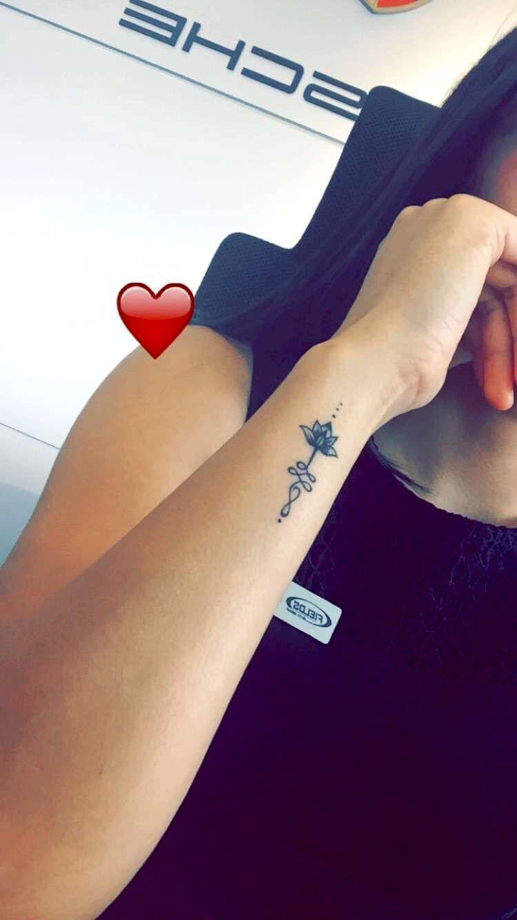 The Unalome: Lotus Unalome Tattoo