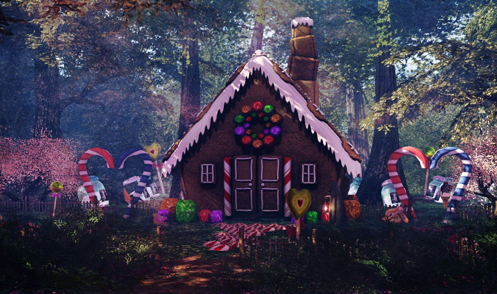 Image Result For Hansel And Gretel Candy House Candy House Hansel And Gretel House Walk In The Woods