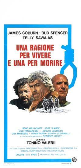 Uma Razao Para Viver Uma Razao Para Morrer 1972 Cartazes De Filmes Classicos Cartazes De Filmes Filmes Classicos