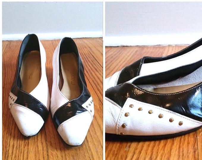 cd856843772 black and white flats