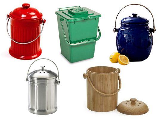 Stylish Countertop Composting Bins Compost Bin Kitchen Compost