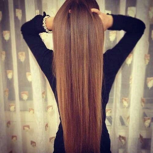 Les cheveux tres long