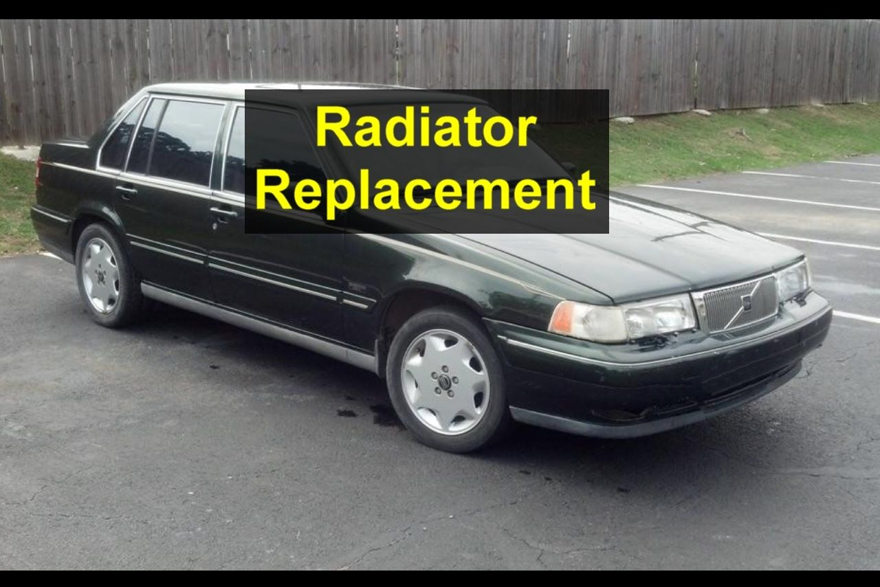 Radiator removal and replacement for the Volvo 960 - VOTD