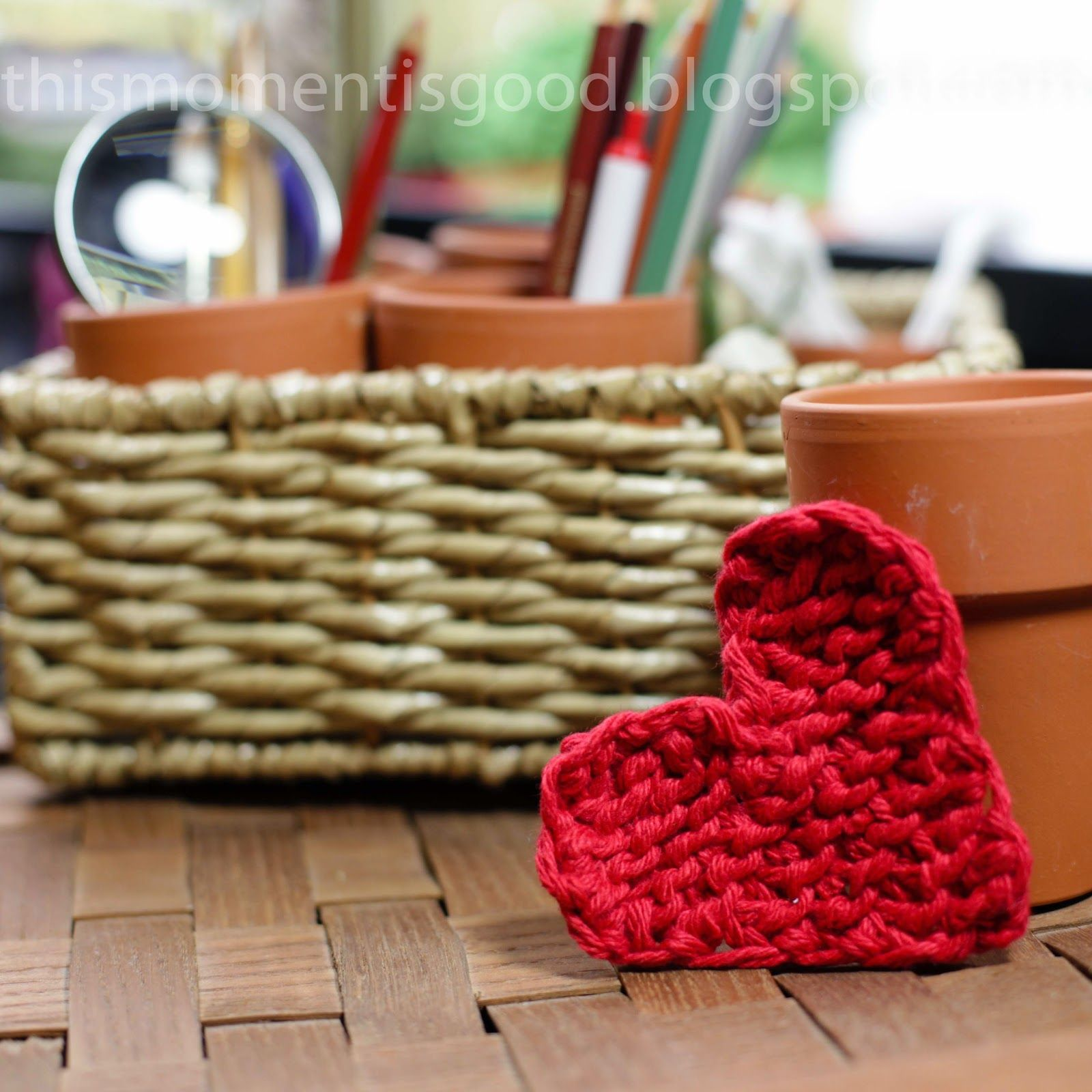 This Moment is Good!: LOOM KNIT HEART - FREE PATTERN | Loom Knitting ...