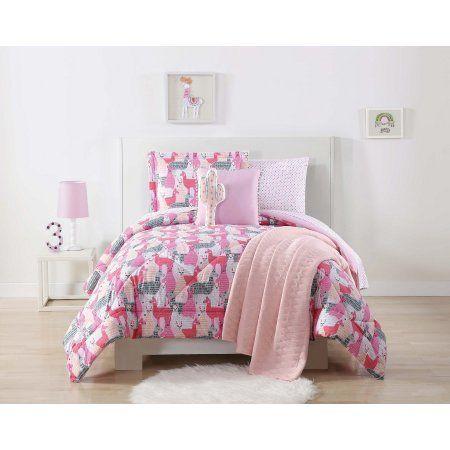 Laura Hart Kids Llama Llama Printed Full Queen Comforter Set
