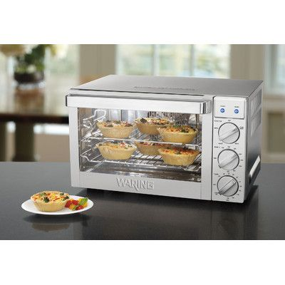This Waring 0 9 Cubic Foot Commercial Countertop Convection Oven