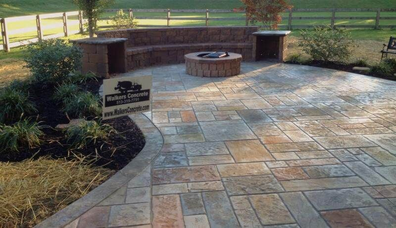 Stamped concrete patio ideas - Gardening flowers 101-Gardening ...