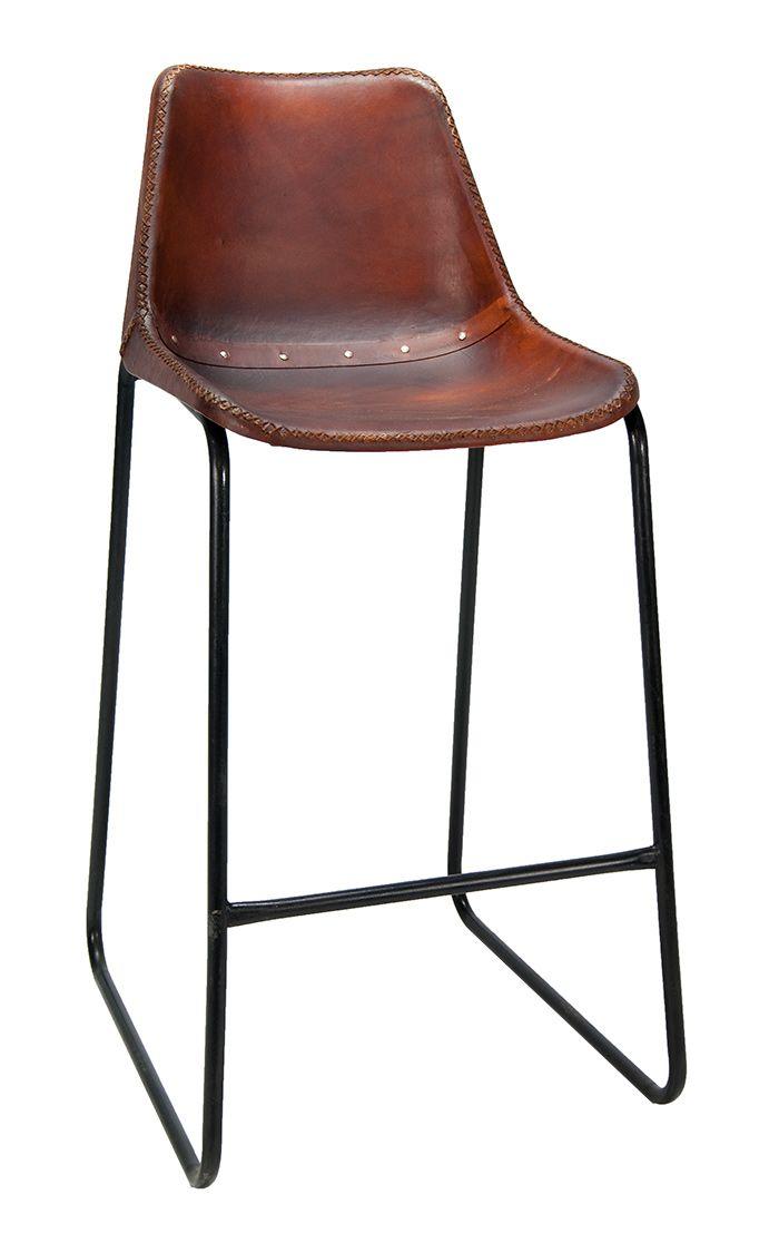 imagen del taburete de diseño vintage con pie patín Mews Café ...