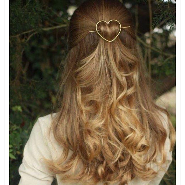 33 Half Up Half Down Wedding Hairstyles To Try Koees Blog: Que Tal Um Acessório De Cabelo? #vemver Inspirações No