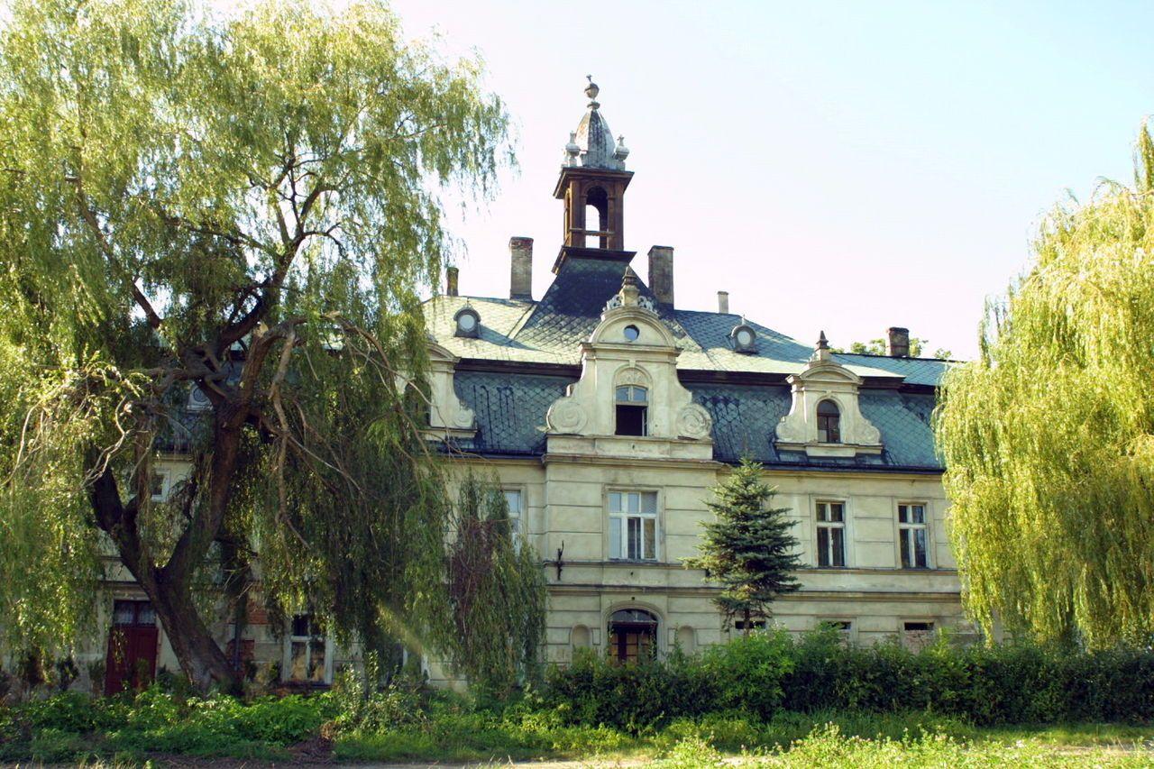 Kębłowice pow. wrocławski pałac — Foto Mzopw