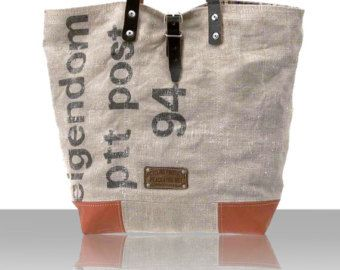 Canvas-Schultertasche Tote Bag von peace4youBAGS auf Etsy