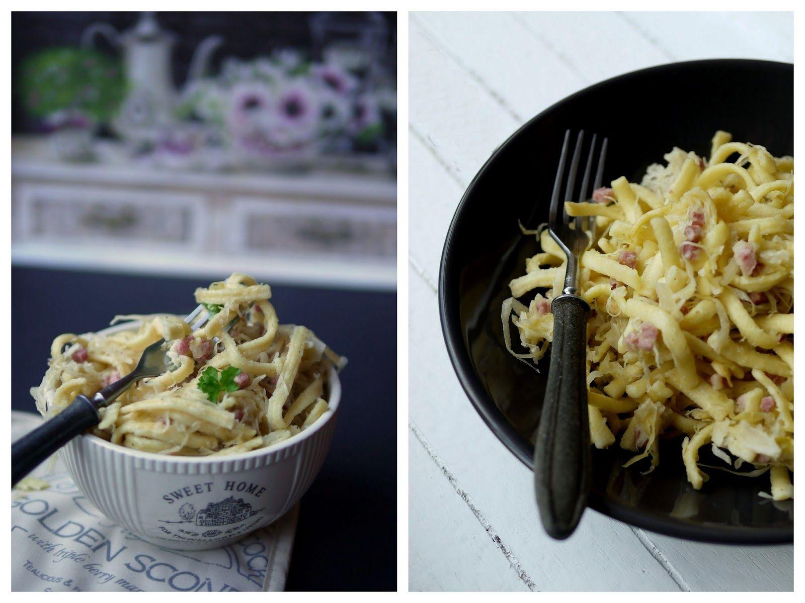 Experimente aus meiner Küche: Sauerkraut-Spätzle-Pfanne