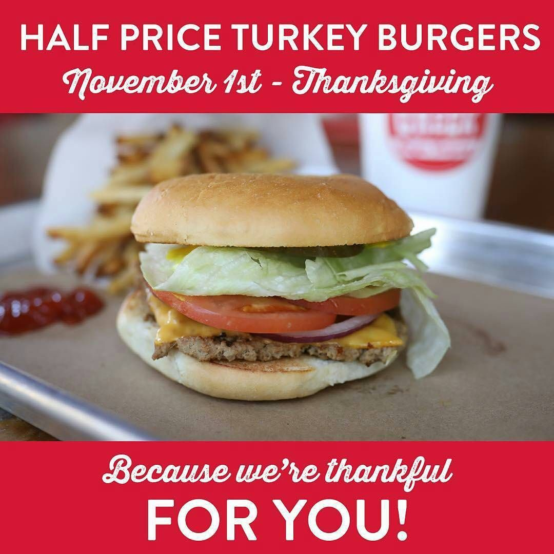 Hatcreekburgercompany We Wanted To Thank You For All The And Support You Have Shown Hat Creek Burger Throughout The Year Wit Turkey Burgers Burger Food