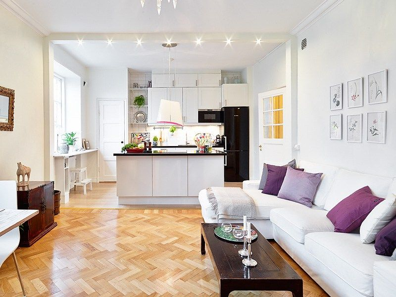 Interior design ideas kitchen living room small space pros cons open closed kitchens also rh pinterest