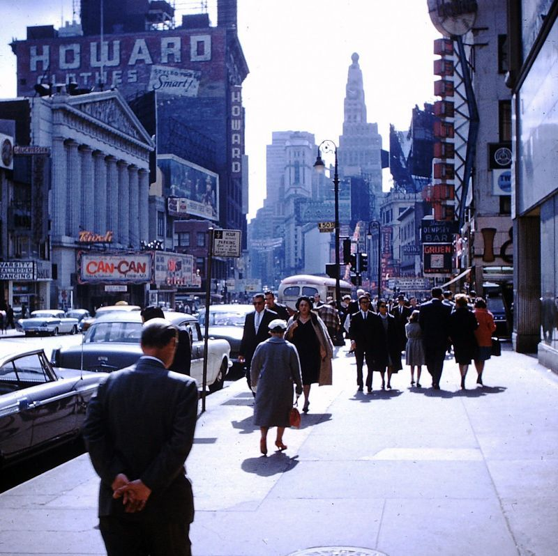 57 Found Color Photos Of New York City In The Late 1950s