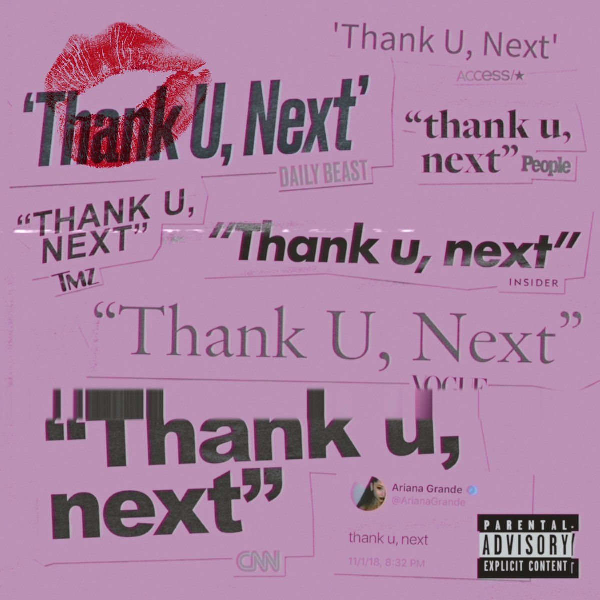 Ariana Grande S New Song Thank U Next Ariana Grande Cover
