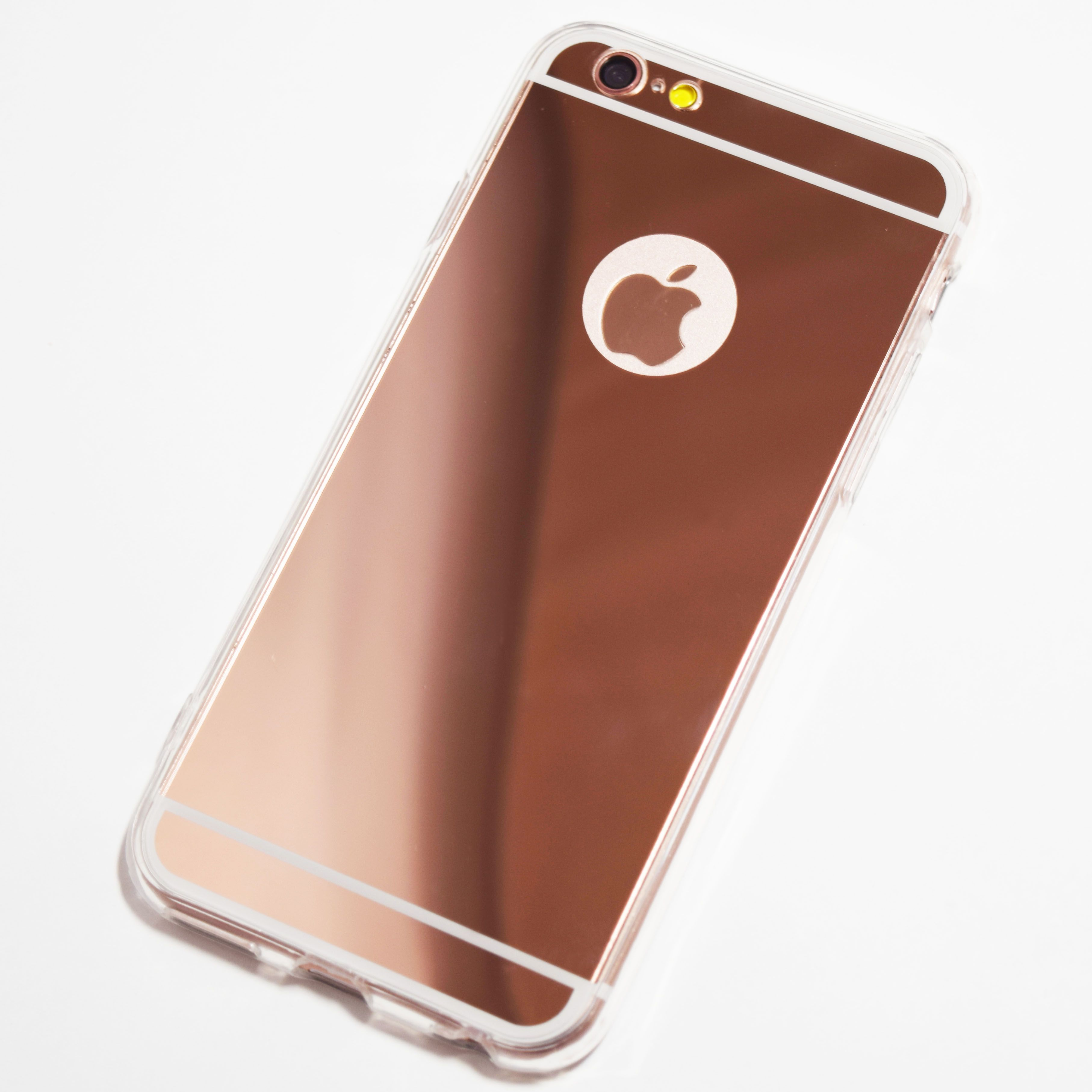 Rose Gold Iphone 6 6s Reflective Mirror Case Retailite Rose Gold Iphone Iphone Mirror Case Iphone
