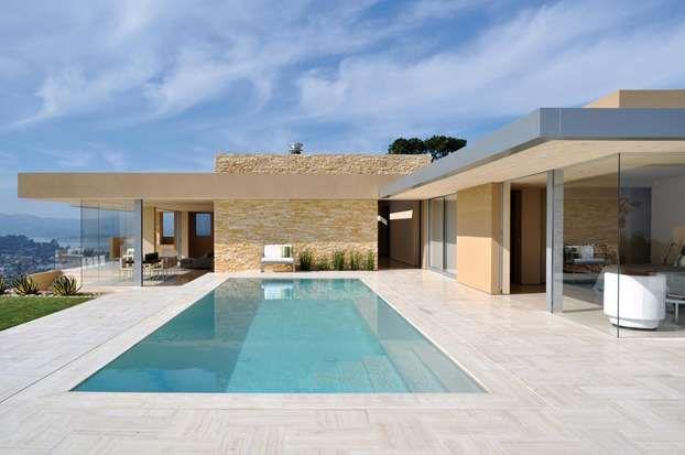 Una villa a san francisco case da sogno haus moderne for Case bellissime moderne