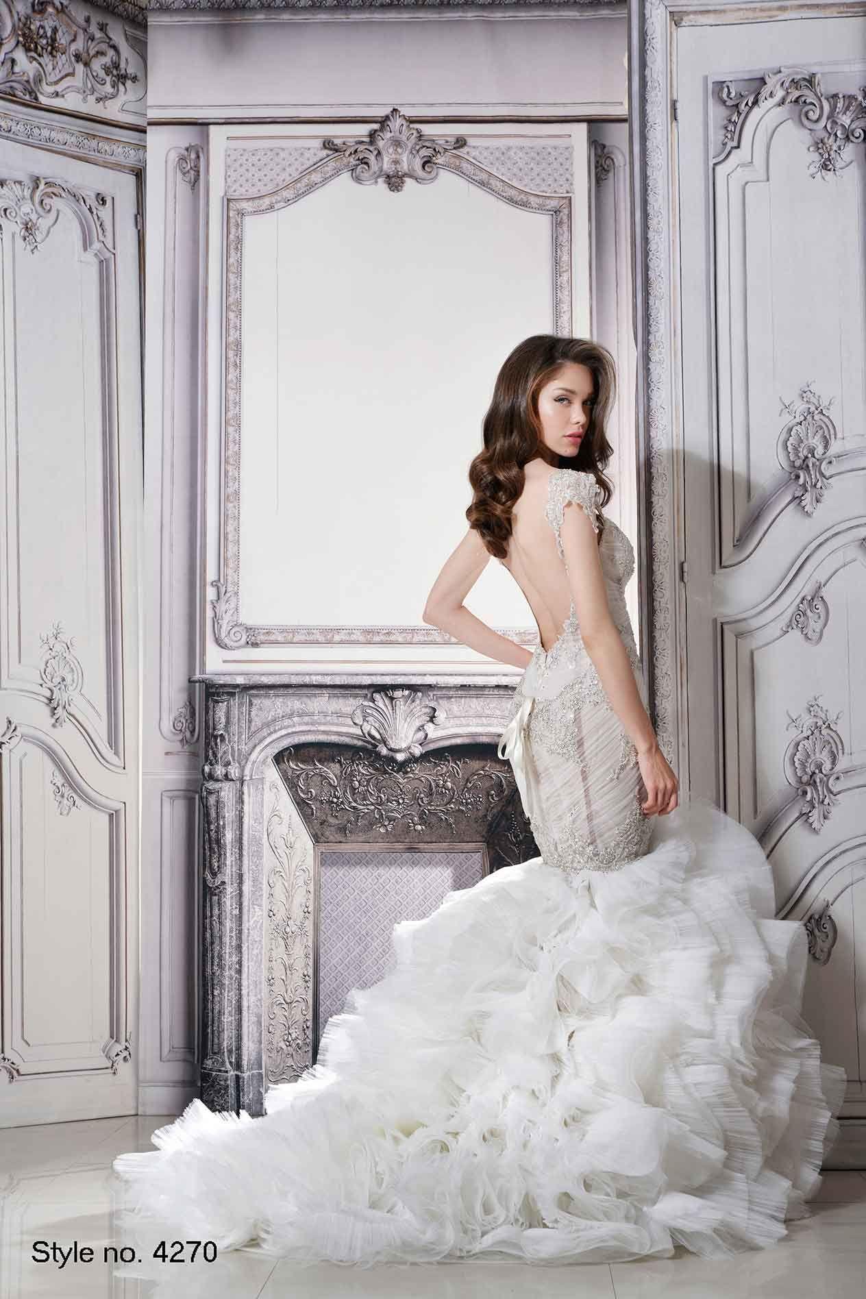 Pnina tornai style back pninatornai wedding dress ideas