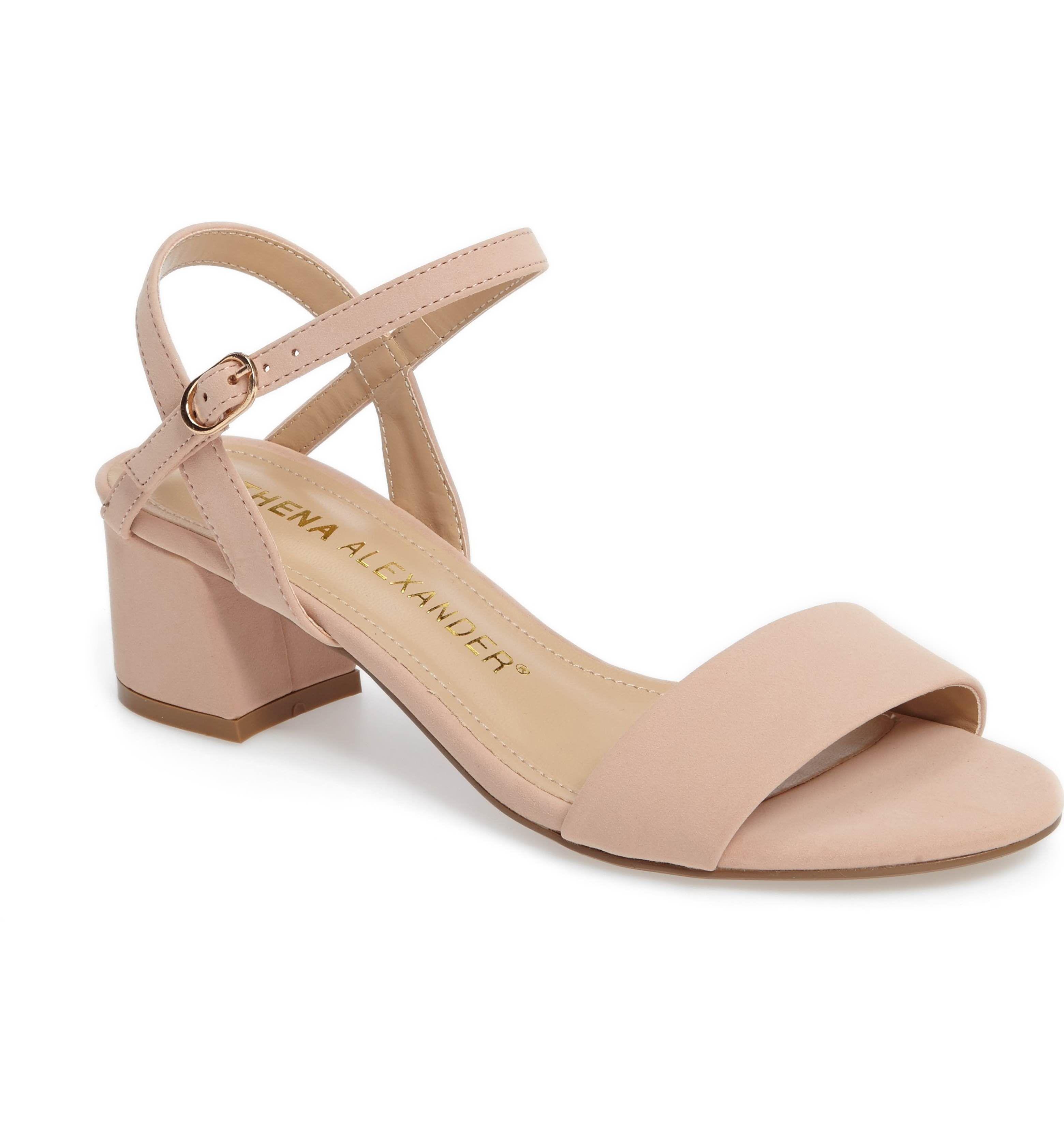 Athena Alexander Jacoba Block Heel Sandal (Women) | Nordstrom