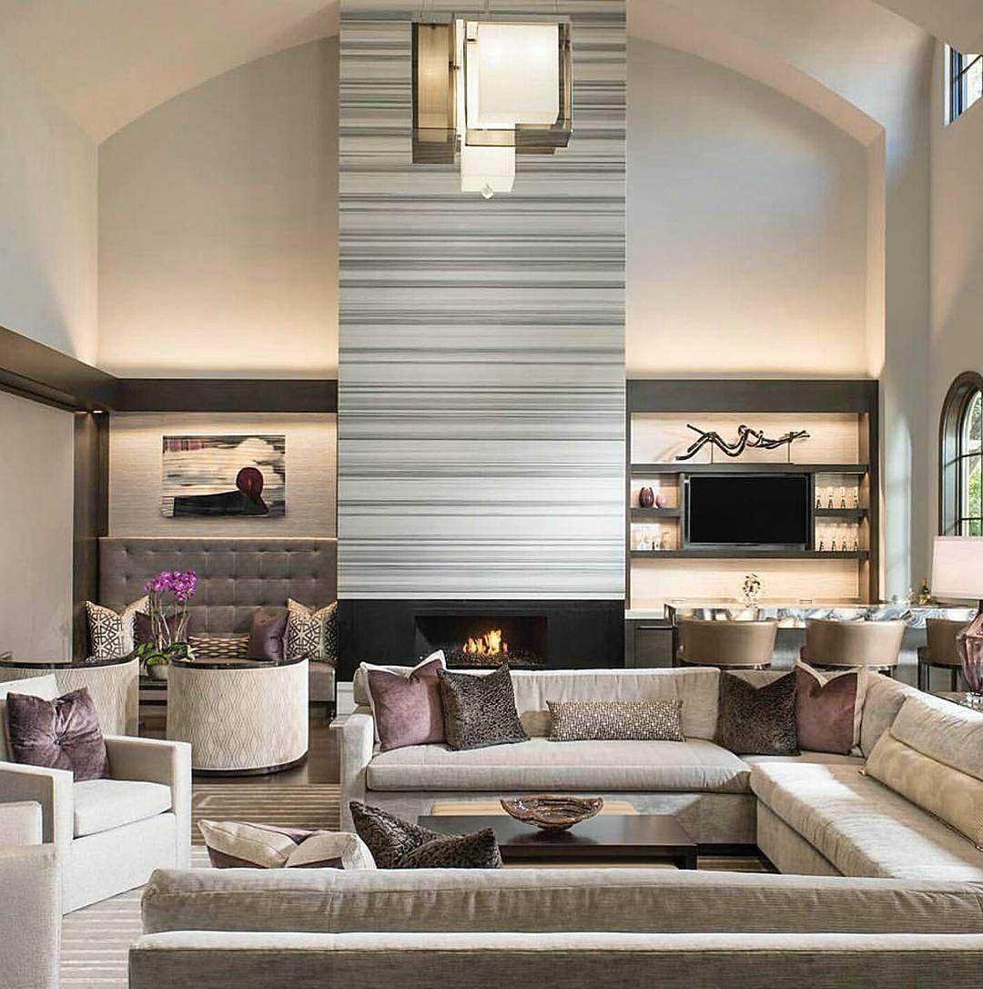Pinmarcia Allen On Living Room  Pinterest  Living Rooms Magnificent Big Living Room Designs Design Inspiration