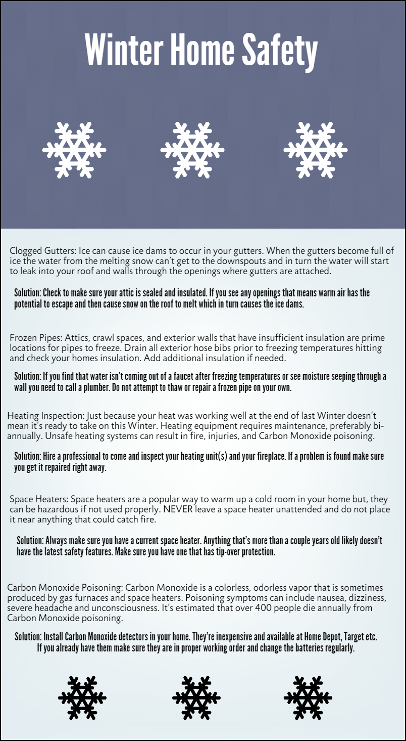 Winter Home Safety | Safety and Winter