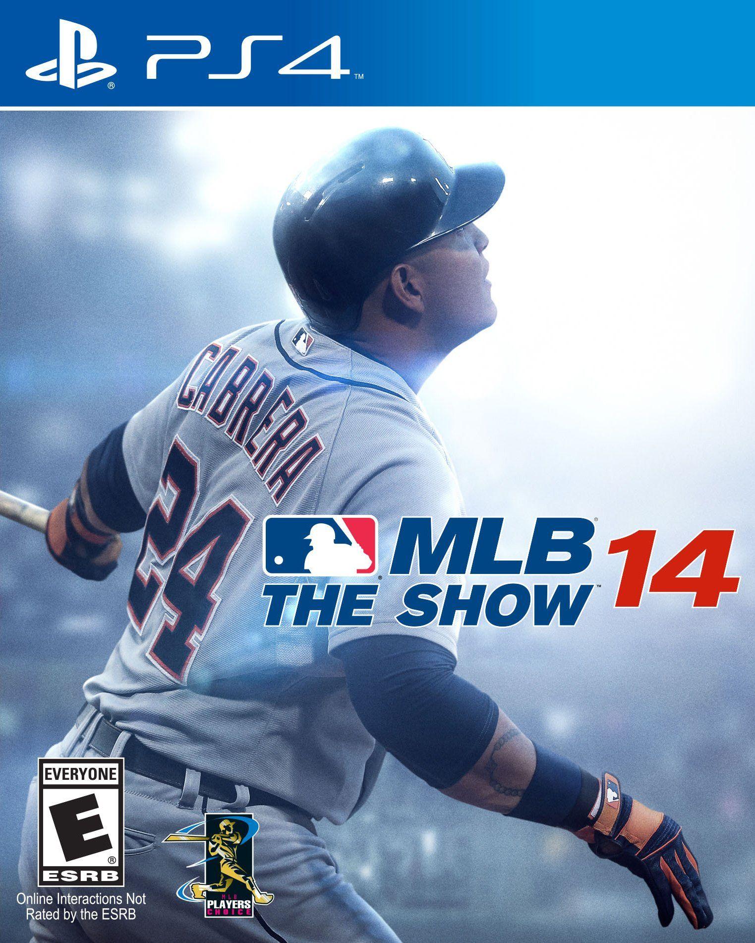 Amazon Com Mlb 14 The Show Playstation 4 Video Games Mlb The Show Mlb Latest Video Games
