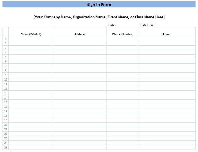 Meeting Attendance Sheet Stationary Templates Pinterest - task sheet templates