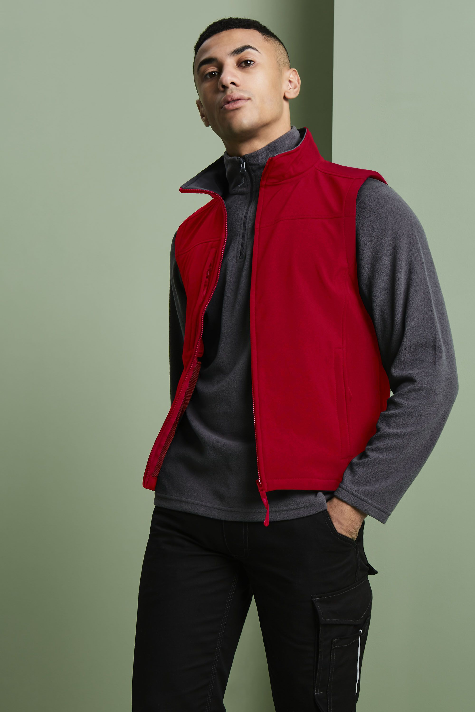 Men/'s Flux Softshell Body Warmer