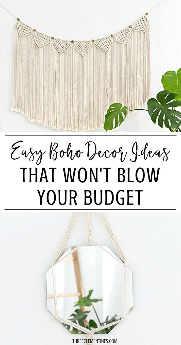 Easy Boho Decor Ideas That Won't Blow Your Budget images