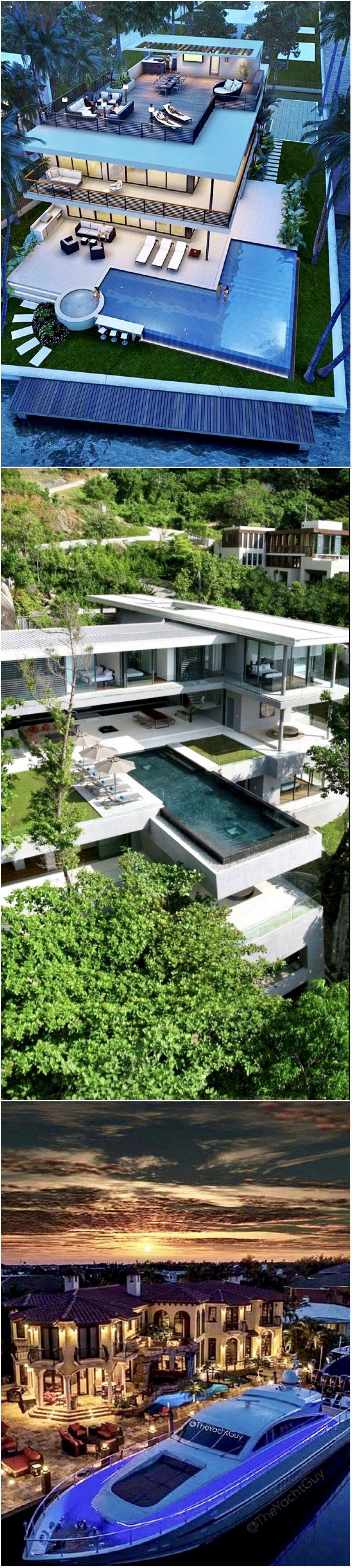 91 Stunning Mansion Dreams Homes | Architektur, Moderne häuser und ...
