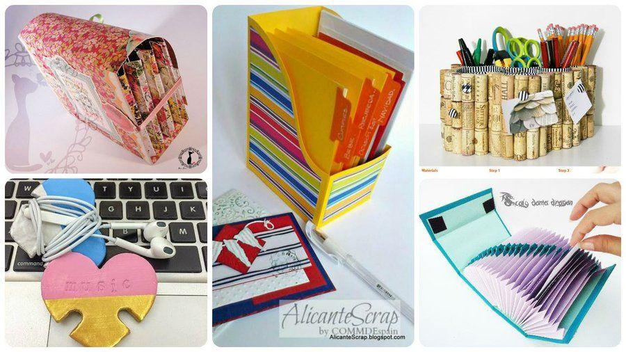 Ponle orden a tu escritorio manualidades pinterest for Como decorar mi escritorio de trabajo
