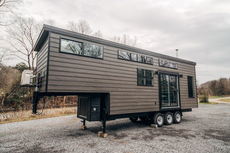 32 Foot Lupine Tiny House With Amazing Kitchen Built On