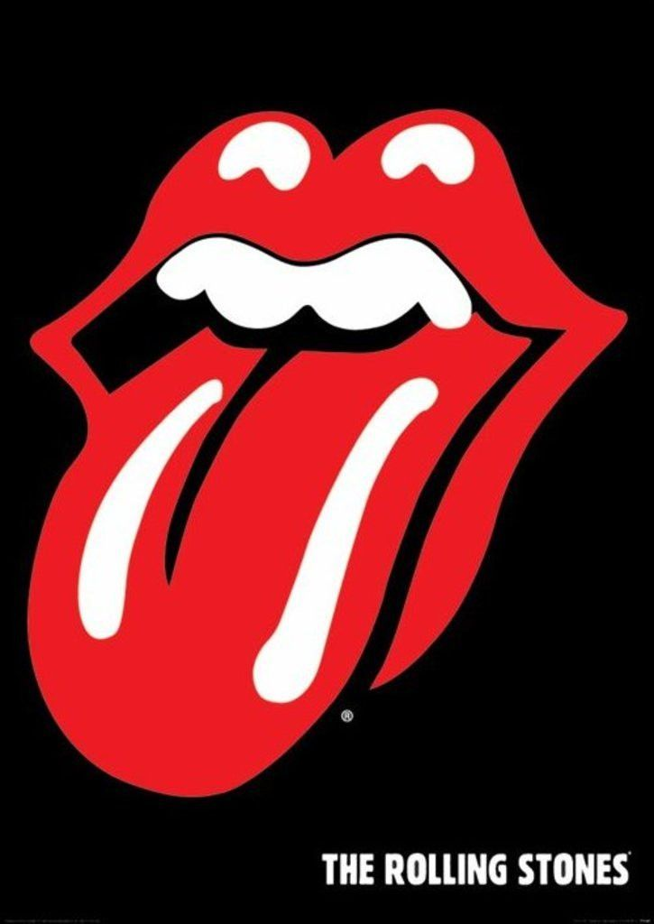 Rolling Stones Tongue Official Poster Official Merchandise
