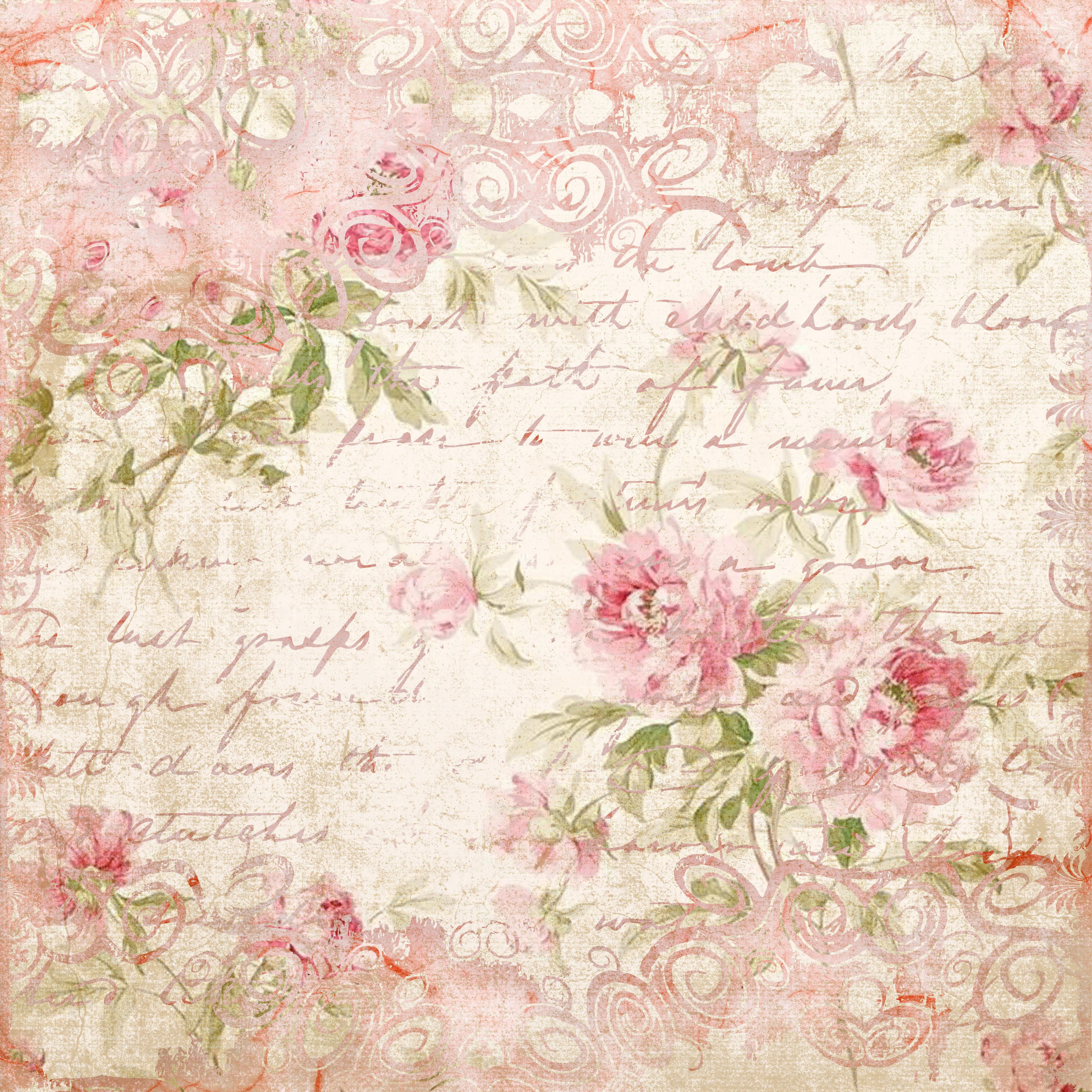 roses on writing shabby chic pinterest decoupage. Black Bedroom Furniture Sets. Home Design Ideas