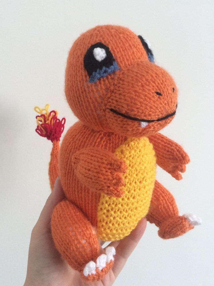 Charmander Amigurumi Free : Charmander pokemon amigurumi Whittling, Amigurumi and ...