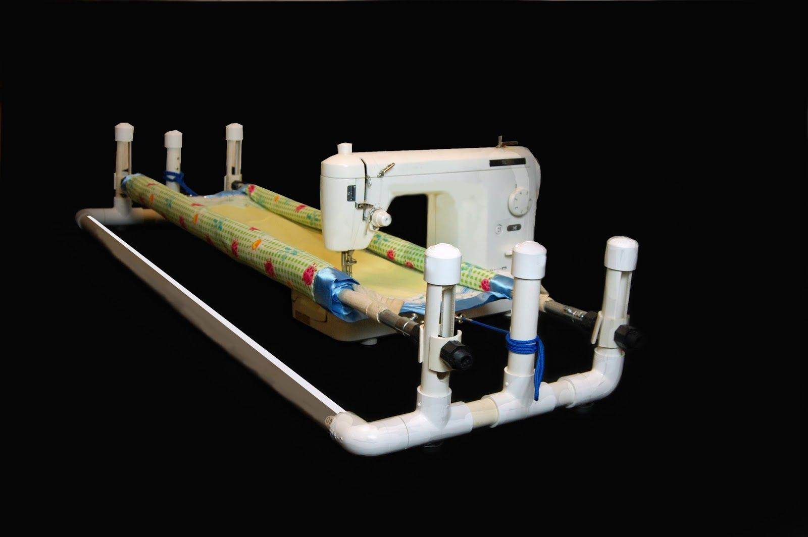 Since the theme of this blog is machine quilting solutions this ... : machine quilting frame - Adamdwight.com