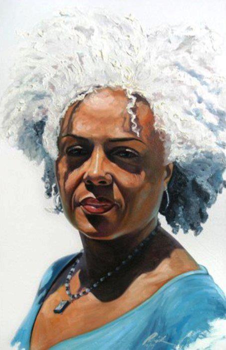 Aging Gracefully African American Art Afro Art Art