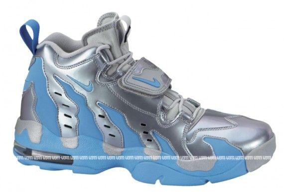 Nike Air DT Max 96 Metallic Silver Vivid Blue  c23b4682da